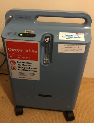 Nifty oxygen machine